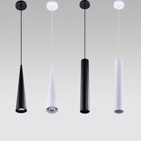 1PC Modern LED Long Tube   Pendant     Lights   Simple Nordic Restaurant/Dinning Room/Bar Cylindrical   Pendant   Lamps 5W/7W/10W Lanterns
