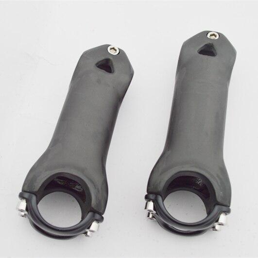 1 ks plné uhlíkové vlákno kolo stéblo horské kolo silniční kolo stonek délka 60-130mm matný povrch gambo della bicicletta