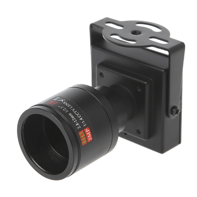 700TVL Mini caméra de vidéosurveillance avec objectif 2.8 12mm, pour Surveillance de sécurité, dépassement de voiture