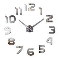 Топ Мода 3d настенные часы reloj de pared кварцевые часы Современные diy часы гостиная большие декоративные horloge murale наклейки