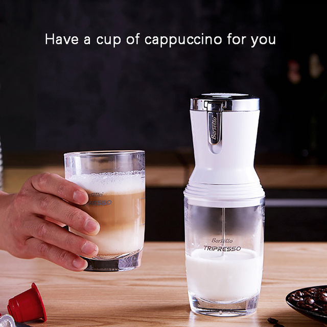 Portable Milk Frother Milk Foamer Blender Food Mixers Coffee Hot and Cold Milker Cappuccino Fancy Coffee Foamer