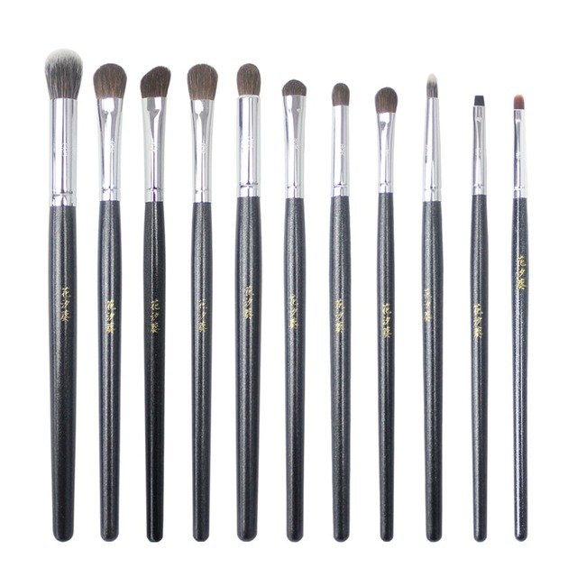 Professional Makeup Brushes Synthetic Horse Hair Highlighter Eye