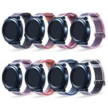 20mm correa de reloj universal pulsera wristband para Samsung Gear Sport SM-R600/S2 Classic/SM-R732/Garmin vivoactive 3 desgaste reloj