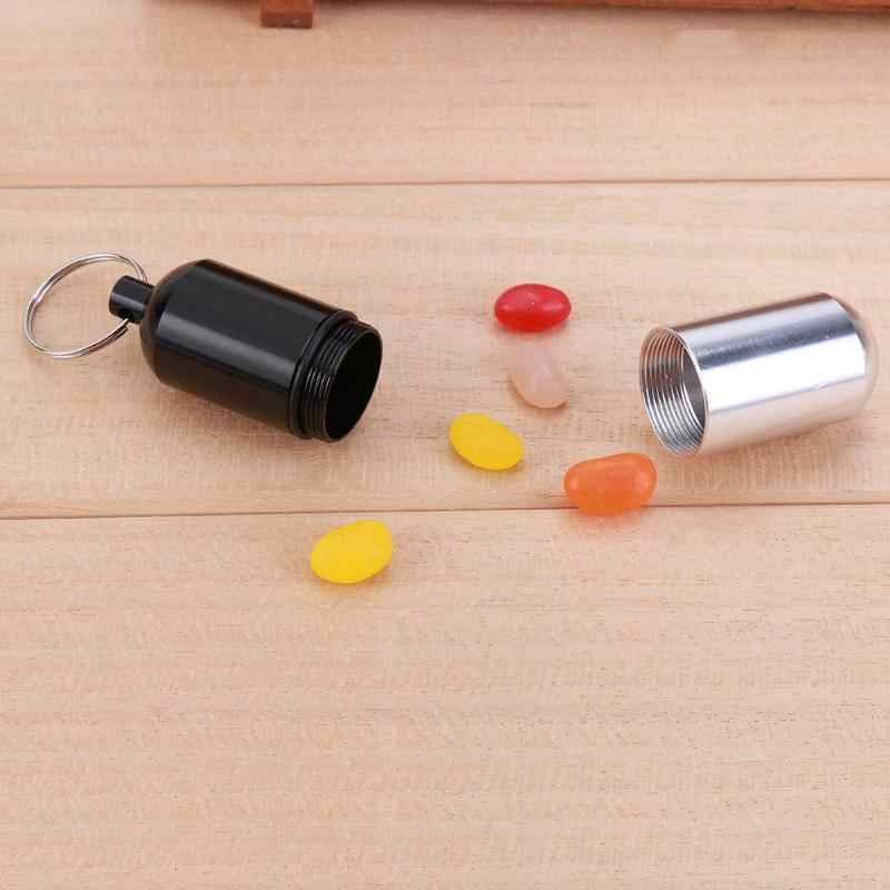 Detail Feedback Questions About Mini Pill Storage Box Bottle Case