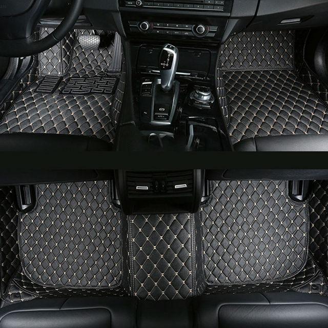 Car Floor Mats For Audi A B B B B A A C C C Allroad - Audi a4 car mats