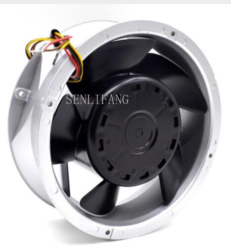 Free Shipping  109E2024V0S03 20070 20cm 200mm Round DC 24V 1.9A Gale Aluminum Frame Cooling Fan
