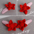2 Pieces/lot Baby small flowers hairpin Cloth hairpins hair accessories Headwear bebes fille cheveux hair clip gift