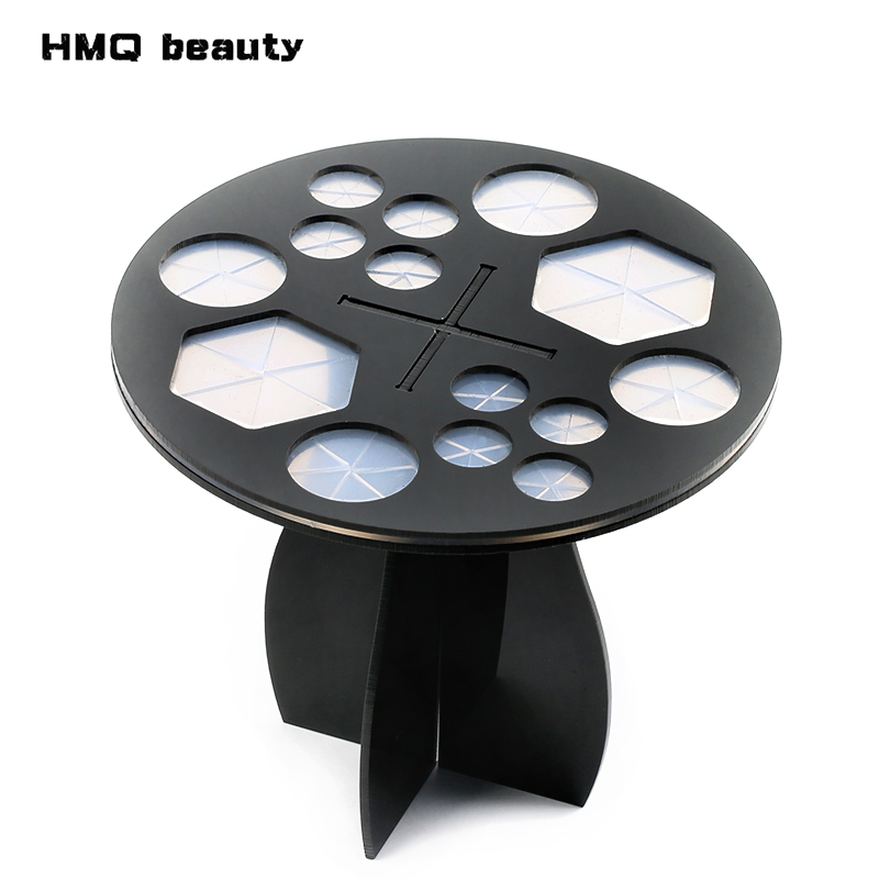 14 Hole Make up Brush Set Dry Rack Drying Brushes Shelf Multifunction Stand Display Cosmetic Clean Tool Wash Makeup Brush Holder