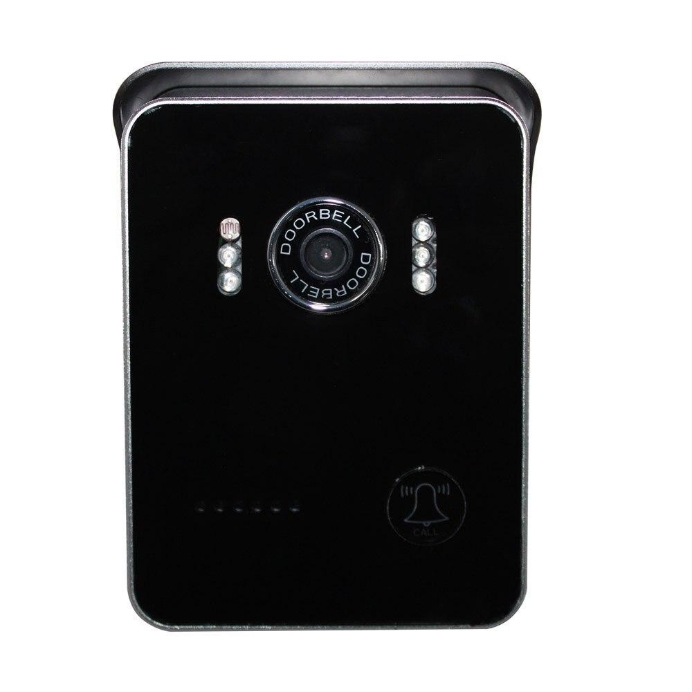 Sans fil WiFi vidéo visuel porte téléphone sonnette interphone système sécurité à la maison pour iPhone Samsung téléphone portable tablette PC