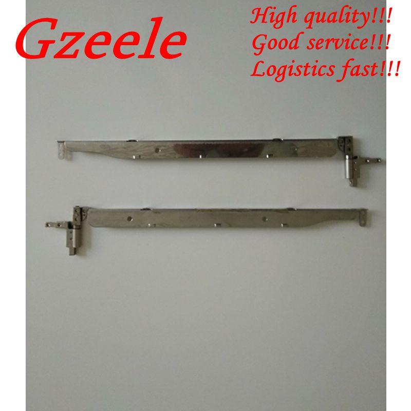 GZEELE NEW Notebook LCD Hinge For Hp Compaq NX6110 NX6120 NX6130 NC6120 NX6310 NX6325 Hinges 15.0
