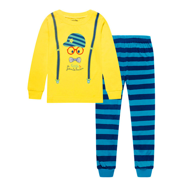 7b56ba4d6b97d US $7.94 6% OFF|Hooyi 2018 Baby Boys Clothes Suits Children Pajamas Kids  Sleepwear Fashion Toddler Nightgown 2 3 4 5 6 7Y Sleep Clothing Suits-in ...