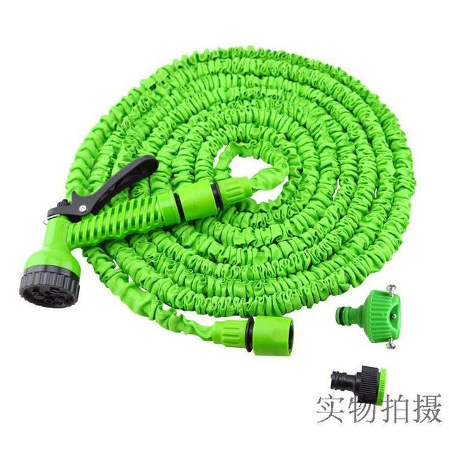 expandable garden hoses. 25FT Expandable Garden Hose Irrigative Magic Water Telescopic Pipes With Multi-purpose Nozzle Hoses