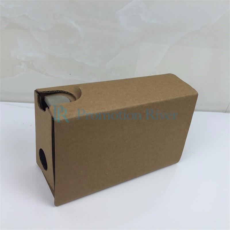 Event Supplies Logo Custom Google Cardboard V 2.0 Custom printing Virtual Reality Headset VR Viewer for up to 6 inch phone 6