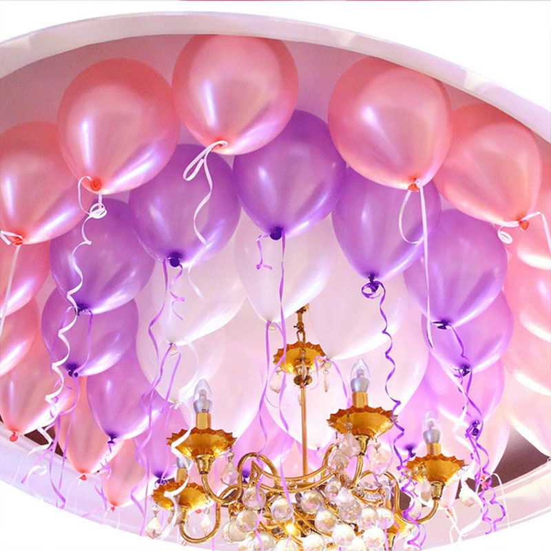 Pearl Latex Balloon 11 Colors Inflatable Wedding