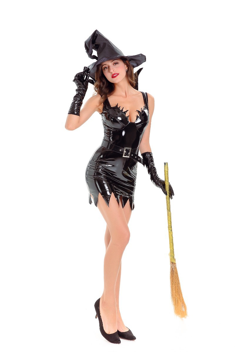 Sexy witch halloween costume ready help
