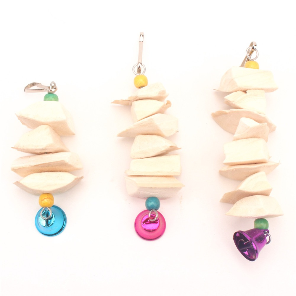 Cuttlefish Bone Bird Toys sepia For Parrots Budgie And font b Pet b font Perch wood