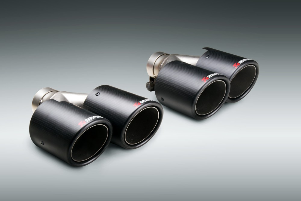 High Quality Inlet (57mm) Outlet (89mm) Akrapovic Auto
