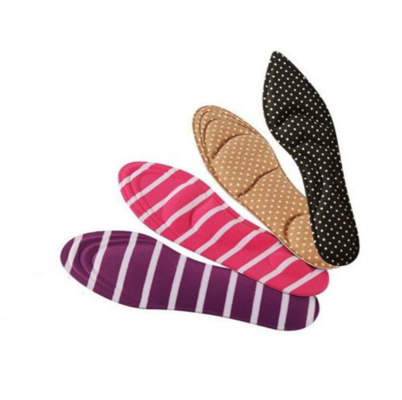 1 Paar Neue Massage High Heels Schwamm 3d Schuh Einlegesohlen Kissen Pads Diy Schneiden Sport Arch Support Orthesen Für Frauen Mädchen