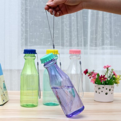 BF050  Multi-functional portable leakproof soda bottle transparent 650 ml free shipping