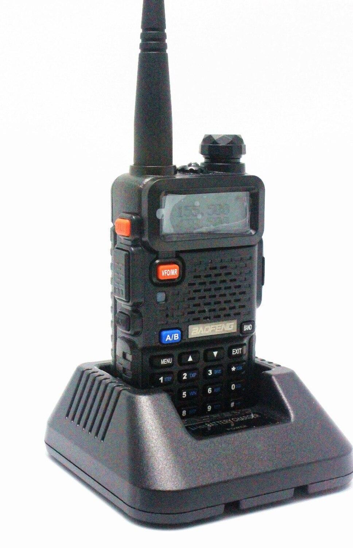 BaoFeng UV-5R Talkie Walkie 136-174/400-520 Mhz VHF/UHF DUAL-BAND Handy Chasse Radio Récepteur avec Headfone