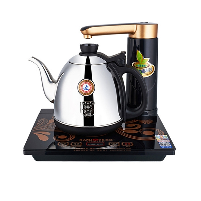 free shipping KAMJOVE K7 intelligent electric kettle automatically add water electric tea stove automatic electricity Tea stove