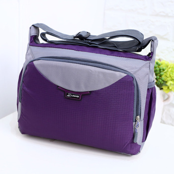 Male women's handbag preppy style school bag 2016 waterproof nylon messenger bag large bag light quinquagenarian bag large japanese women ladies girls preppy style handbag lolita bowknot shoulder bag jk uniform messenger bag 3 way daypack school bag