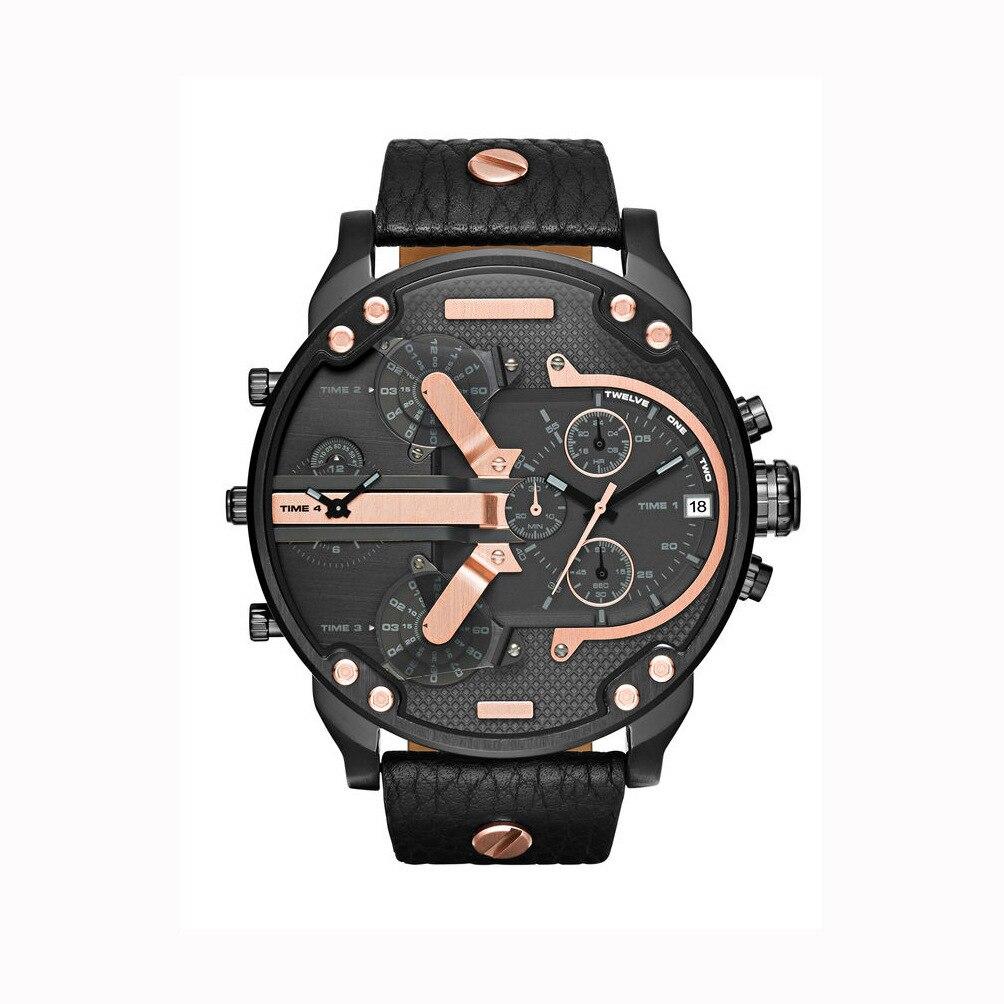 Oversized Men s Big Watch Luxury Brand Famous Unique Designer Quartz Watch Male Large Watches Men