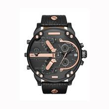 Негабаритных Для мужчин; большие часы Элитный Бренд славится уникальным дизайнерские кварцевые часы мужской большой часы мужские Relogio masculino
