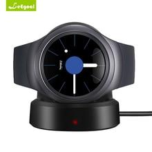 Leegoal QI Беспроводной charging Dock Колыбели Зарядное устройство для Samsung Шестерни S2 Smart часы Зарядное устройство для Samsung Шестерни S3/S2 классический Frontier