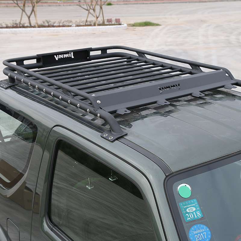 Shineka Car Exterior  X  Cm Roof Rack Basket Metal Waterproof Luggage Carrier Box For Suzuki Jimny  In Car Covers From Automobiles