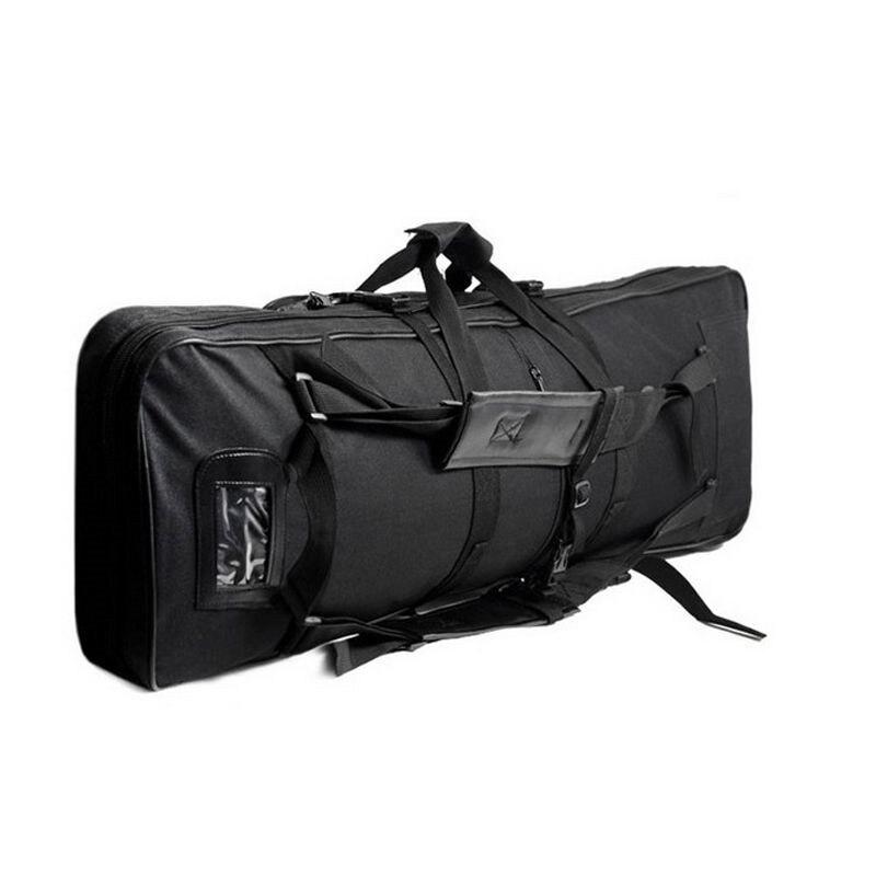 Prix pour En plein air Chasse Militaire Tactique Pistolet Sac Carré Sac de Transport Gun Protection Cas Camping Sac À Dos De Pêche sacs de Transport