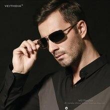 Бренд VEITHDIA, поляризованные мужские солнцезащитные очки, алюминиевая магния, Золотая оправа, солнцезащитные очки, мужские очки для вождения, очки, аксессуары 2458