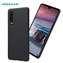 For Huawei P30 Case Original NILLKIN Super Frosted Shield Matte Hard PC Back Cover Fundas Shell Phone Cases
