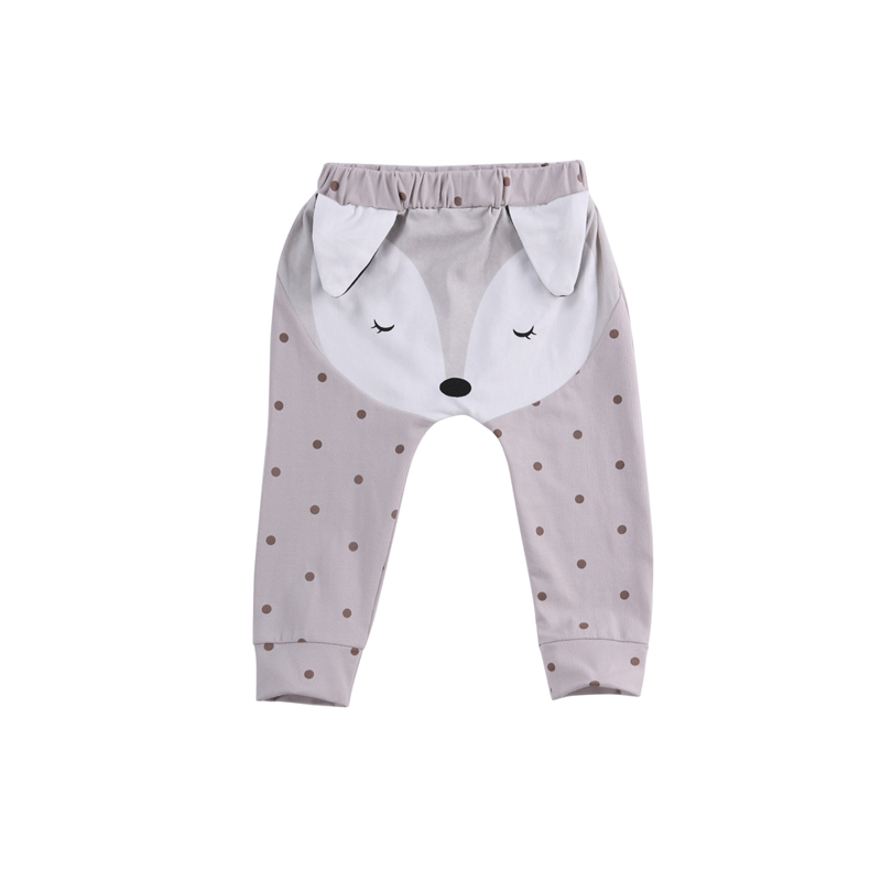 2018 Baumwolle Nette Neugeborene Baby Jungen Mädchen Casual Elastische Taille Polka Dot Bottom Harem Hosen Outfit Frühling Herbst 0- 24 M