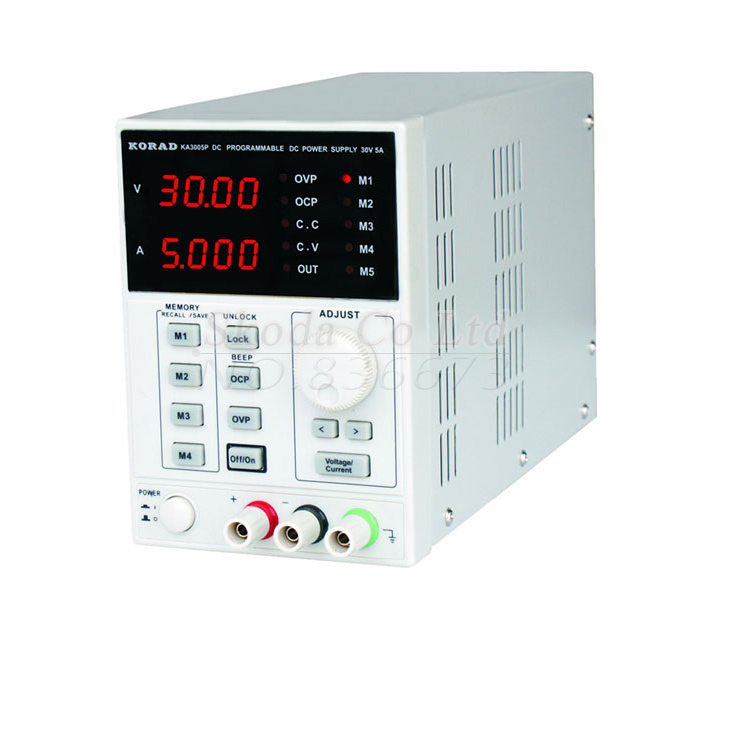 KORAD KA6003D High Precision The Lab programmable Adjustable Digital Regulated power supply DC Power Supply 60V/3A it6720 programmable dc power supply 60v 5a lab grade