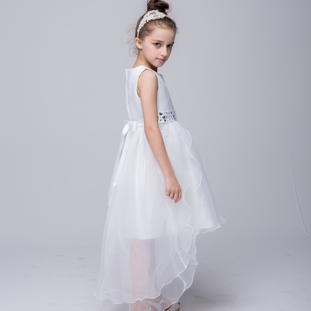 Retail Girls Dress Wedding Gown Kids Dresses For Girl Evening Party ...