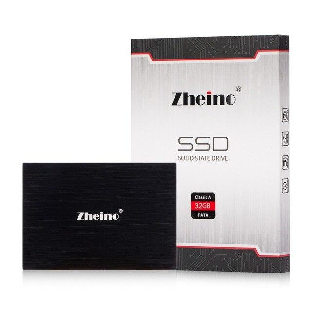 """Более низкая Цена Zheino 2.5 """"PATA SSD 32 ГБ 44pin 2.5"""" IDE Solid State Drive MLC Флэш Жесткий Диск Для IBM HP DELL SAMSUNG HDD"""