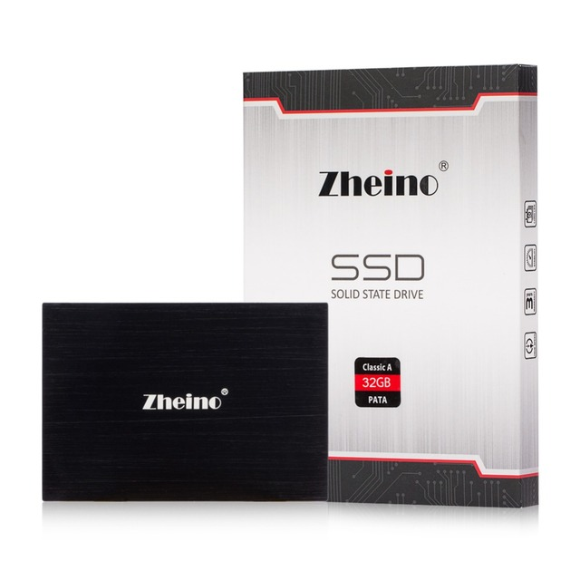 """Lower Price Zheino 2.5"""" PATA SSD 32GB 44pin 2.5"""" IDE Solid State Drive Flash Hard Drive Disk MLC For IBM HP DELL SAMSUNG HDD"""