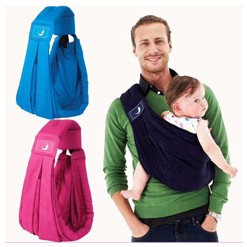 Newborn Infant Baby Carrier Sling Single Shoulder Cross Baby Wrap Summer Breathable Inclined Baby Carrier for Womens Mens breathable baby carrier backpack portable infant newborn carrier kangaroo hipseat heaps sling carrier wrap