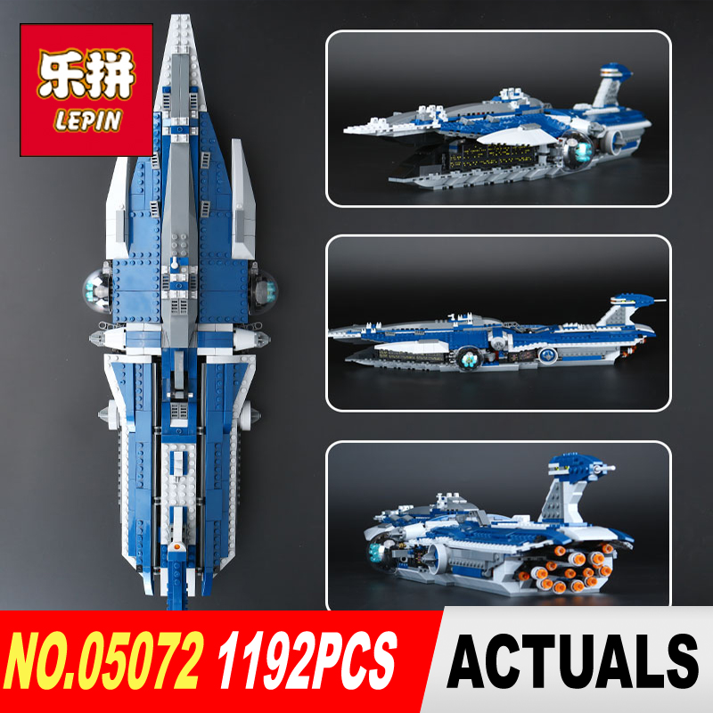 Lepin 05072 1192Pcs  Star classic Wars The Limited Edition Malevolence Warship Set Children Building Blocks Bricks Model 9515 lepin 05035 star wars death star limited edition model building kit millenniums blocks puzzle compatible legoed 75159