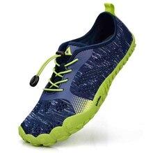 Унисекс Для Мужчин's летние кроссовки для бега дышащая Спортивная обувь тренажерный зал Прогулки обувь подошва пальцы быстросохнущие кроссовки salomon человек