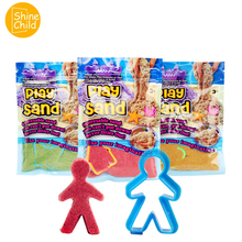 DIY Space Sand Candy Color Powder Charm Moving Sand Play Mold Accessories Model Maker Kit Polymer Educational No Borax Kid Toys