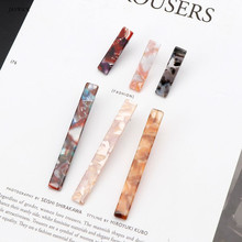 Minimalist Acrylic Resin Earrings Square Geometric Long Bar Tortoiseshell Jewelry Accessories Hot