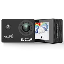 цена на 100% Original Sjcam Sj4000wifi Action Camera, 1080P Full HD Wifi Sport Camera Waterproof Sports DV
