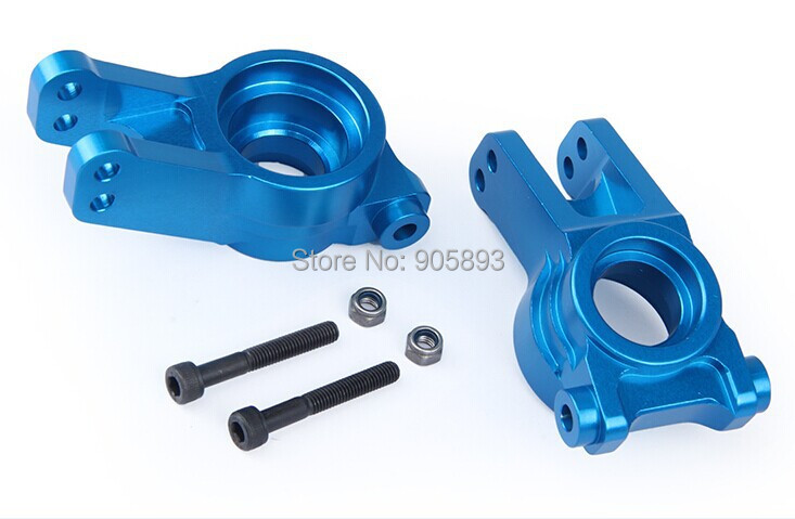 LOSI 5T Spare parts, CNC Rear wheel bearing kit for LOSI 5IVE-T silver, Blue choose losi 5ive t hd billet rear hub carriers