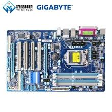 Gigabyte GA-P55-UD3L Intel H55 Original Used Desktop Motherboard LGA 1156 Core i7 i5 DDR3 16G SATA2 USB2.0 ATX original motherboard for gigabyte ga p55a ud3r lga 1156 ddr3 16gb for i5 i7 cpu p55a ud3r p55 desktop motherboard free shipping
