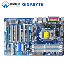 Original Used Desktop Motherboard Gigabyte GA-P55-UD3L H55 LGA 1156 Core i7 i5 DDR3 16G SATA2 USB2.0 ATX for msi p43 c53 h original used desktop motherboard for intel p43 socket lga 775 ddr3 16g atx