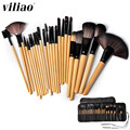 Professional 24Pcs Makeup Brushes Set Tools Make-up Brand Make Up Brush Set Case Beauty Foundation Brush Kit Eyeshadow Lip