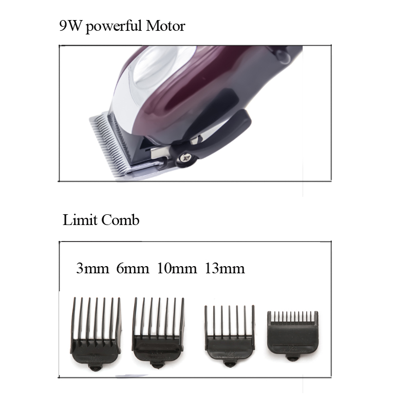 Image 5 - Professional Electric USB Hair Clipper Rechargeable Hair Trimmer Hair Cutting Machine To Haircut Beard Trimmer Men Styling Tools-in Hair Trimmers from Home Appliances