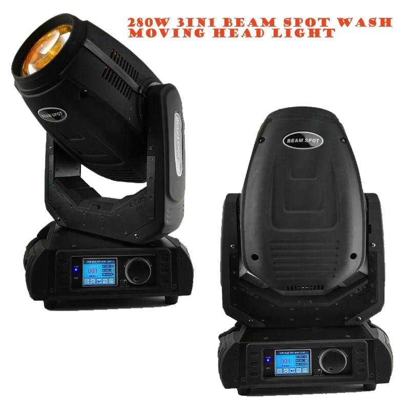 280W Sharpy Beam Spot Wash Lyre 3in1 BSW Moving Head Light Beam 280 Beam 10R Disco Nightclub Stage Light Disco Lighting